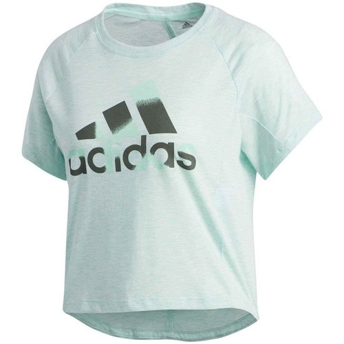 Clothing Women short-sleeved t-shirts adidas Originals Boxy Badge OF Sport Green