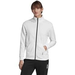 Clothing Women Sweaters adidas Originals Brilliant Basics Track White