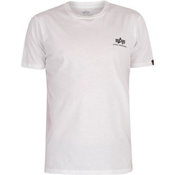 Clothing Men Short-sleeved t-shirts Alpha Basic T-Shirt white