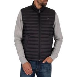 Clothing Men Duffel coats Tommy Hilfiger Core Packable Down Gilet black