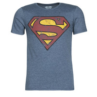 Clothing Men Short-sleeved t-shirts Casual Attitude SUPERMAN LOGO VINTAGE Marine