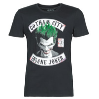 Clothing Men short-sleeved t-shirts Casual Attitude INSANE JOKER Black