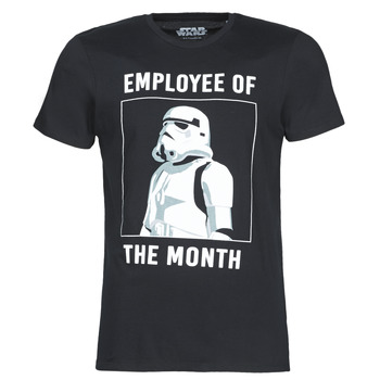 Clothing Men short-sleeved t-shirts Casual Attitude STORMTROOPER OF THE MONTH Black