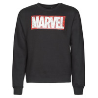 Clothing Men sweaters Casual Attitude MARVEL MAGAZINE CREW Black