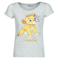 Clothing Women short-sleeved t-shirts Moony Mood THE LION KING Grey
