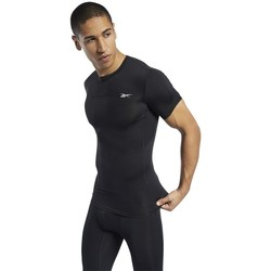 Clothing Men Short-sleeved t-shirts Reebok Sport Workout Ready Compression Black