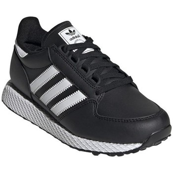 Shoes Children Low top trainers adidas Originals Forest Grove J Black