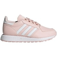 Shoes Girl Low top trainers adidas Originals Forest Grove J Pink