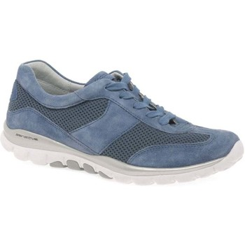Shoes Women Low top trainers Gabor Helen Womens Sports Trainers blue
