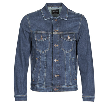Clothing Men Denim jackets Jack & Jones JJIALVIN Blue / Dark
