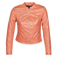 Clothing Women Leather jackets / Imitation leather Vero Moda VMAWARDALMA Brick
