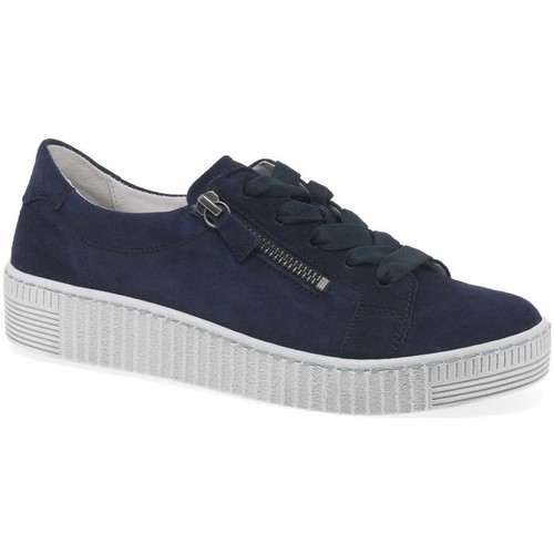 Shoes Women Low top trainers Gabor Wisdom Womens Casual Shoes blue