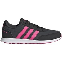 Shoes Children Low top trainers adidas Originals VS Switch 2 K White, Black, Pink