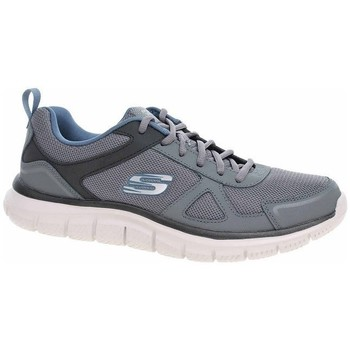 Shoes Men Low top trainers Skechers Track Scloric Grey