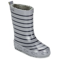 Shoes Children Wellington boots Be Only TIMOUSS Grey