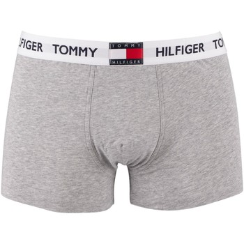 Underwear Men Boxer shorts Tommy Hilfiger Flag Waistband Trunks grey