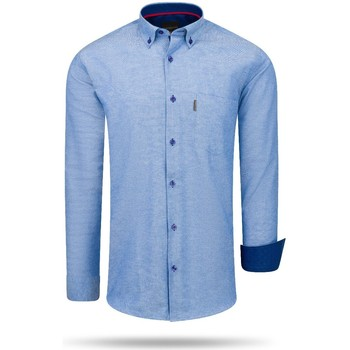Clothing Women Shirts Cappuccino Italia Regular Fit Overhemd Royal Blue