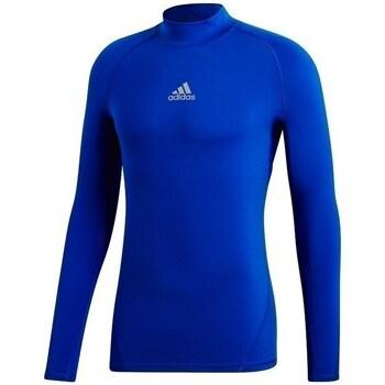 Clothing Men Sweaters adidas Originals Alphaskin Climawarm Blue