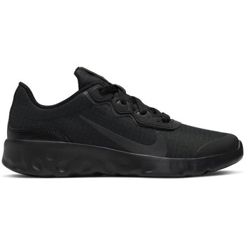 Shoes Children Low top trainers Nike Explore Strada GS Black