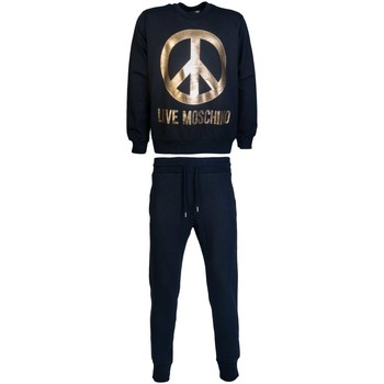 Clothing Men Tracksuits Love Moschino M647040E2090M108913E2090_c74black black
