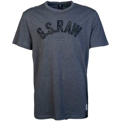 Clothing Men Short-sleeved t-shirts G-Star Raw D15618366_2522charcoal grey