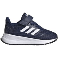 Shoes Children Low top trainers adidas Originals Runfalcon I Navy blue