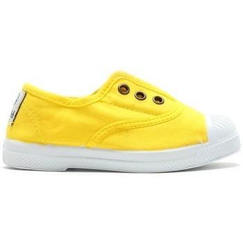 Shoes Women Tennis shoes Natural World Tennis en toile 504-102 Amarillo Yellow