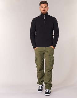 Clothing Men Cargo trousers Schott BATTLE Kaki