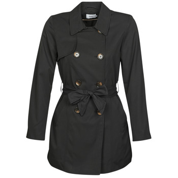 Clothing Women Trench coats Only ONLVALERIE Black