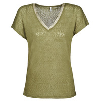 Clothing Women short-sleeved t-shirts Only ONLRILEY Kaki