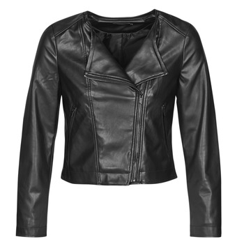 Clothing Women Leather jackets / Imitation leather Only ONLDALY Black