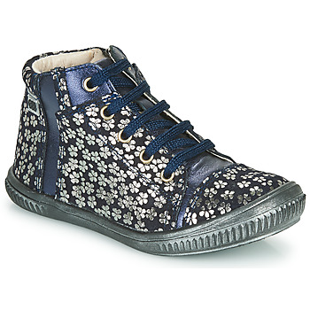Shoes Girl Hi top trainers GBB OUNA Blue / Silver