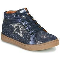 Shoes Girl Hi top trainers GBB NAVETTE Blue