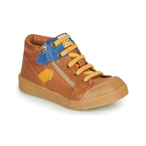 Shoes Boy Hi top trainers GBB IONNIS Brown