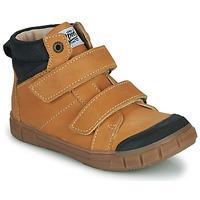 Shoes Boy Hi top trainers GBB HENI Cognac