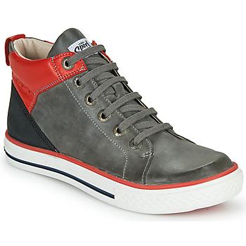 Shoes Boy Hi top trainers GBB MERINO Grey