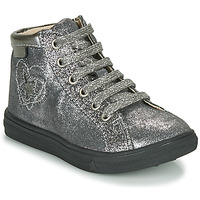 Shoes Girl Hi top trainers GBB MARTA Silver