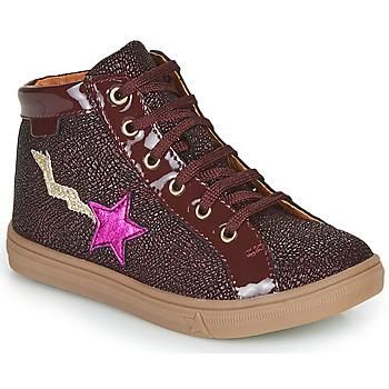 Shoes Girl Hi top trainers GBB TADEA Bordeaux