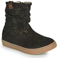 Shoes Girl High boots GBB KINGA Black