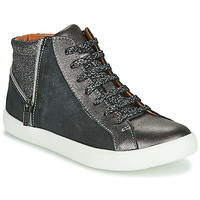 Shoes Girl Hi top trainers GBB CARLA Black