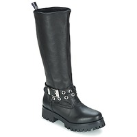 Shoes Women High boots Love Moschino GROGI Black