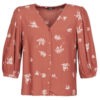 Clothing Women Shirts Vero Moda VMJILLEY Bordeaux