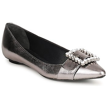 Shoes Women Flat shoes Marc Jacobs MJ19417 Silver