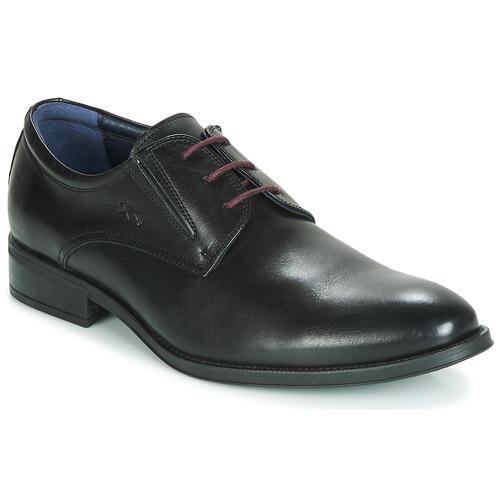 Shoes Men Derby Shoes Fluchos HERACLES Black