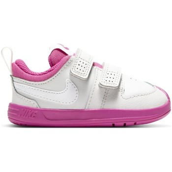 Shoes Children Low top trainers Nike Pico 5 White,Pink