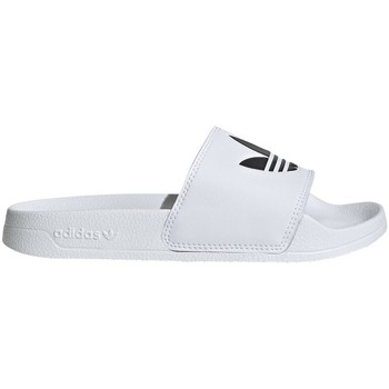 Shoes Children Tap-dancing adidas Originals Adilette Lite J White