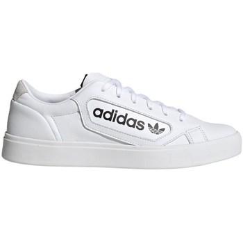 Shoes Women Low top trainers adidas Originals Sleek W White