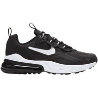 Shoes Children Low top trainers Nike Air Max 270 React GS Black