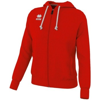 Clothing Men Track tops Errea Sweatshirt  Wita rouge/blanc