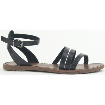 Shoes Women Sandals Chattawak Sandale  9-PAGO Noir Black